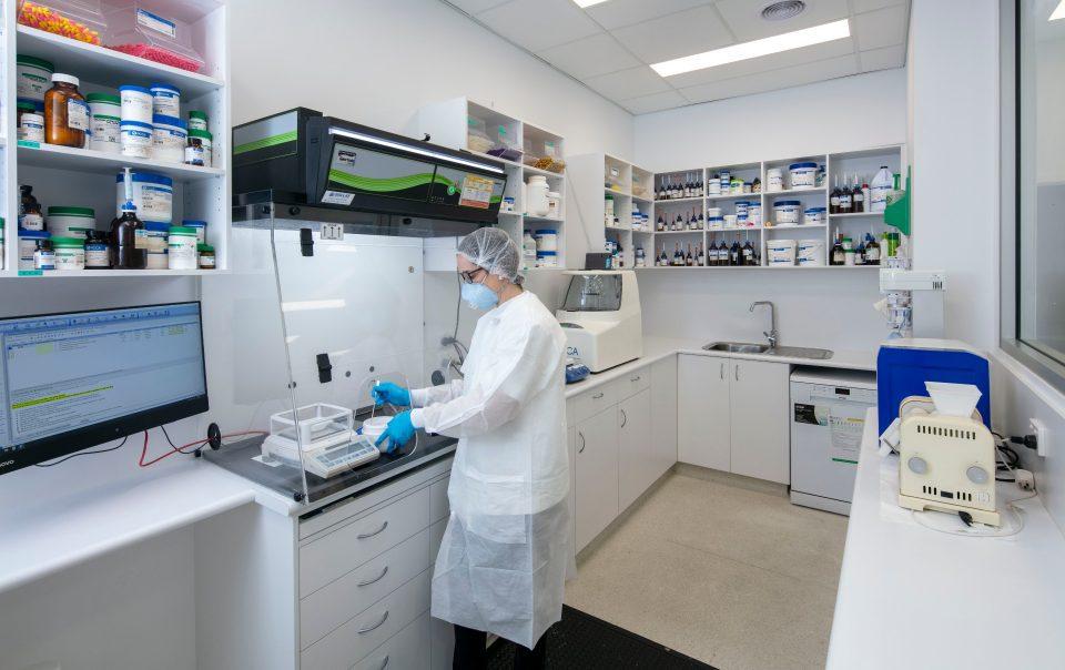 Pharmacium Design compounding laboratory