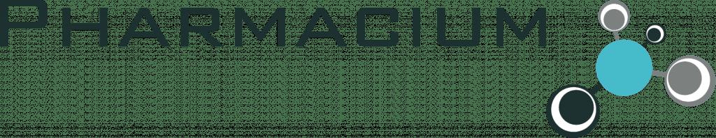 Pharmacium Design Pharmacy Design Logo
