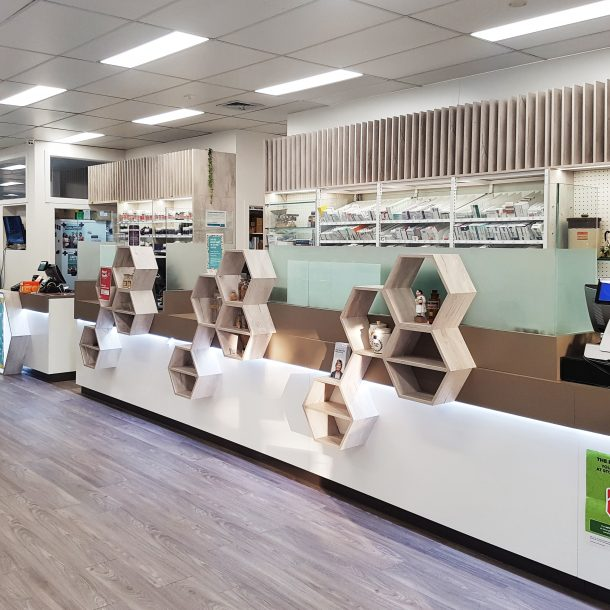 Pharmacy design consulting